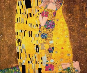 kiss, art, and klimt image
