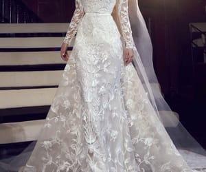 bridal, designer, and dress image