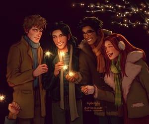 hogwarts, marlene, and the marauders image