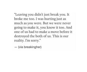 broken, deep, and quote image