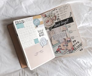 monthly, november, and bullet journal image