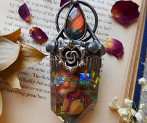 book, creative, and crystal image