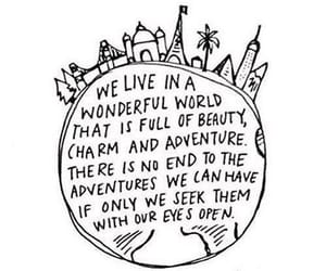 quotes, world, and adventure image