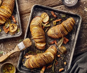 food and baked potatoes image