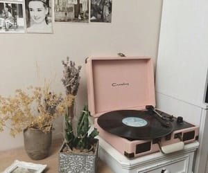 pink, music, and aesthetic image
