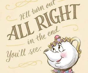disney, beauty and the beast, and quotes image