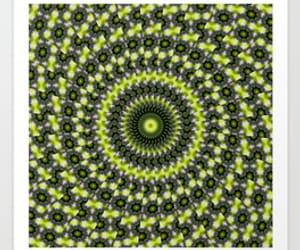 art, circle, and pattern image