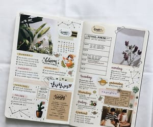 bullet journal, journal, and bujo image