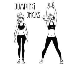 jumping jacks image