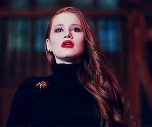 beauty, gif, and madelaine petsch image