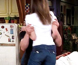 couple, gif, and Jennifer Aniston image