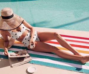 belleza, bikini, and verano image