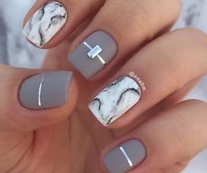 nails, beauty, and art image