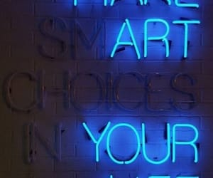 blue, art, and neon image
