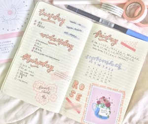 aesthetic, illustration, and bujo image