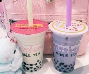 cute, bubble tea, and kawaii image