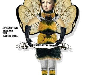 printable, queen bee, and paper doll image