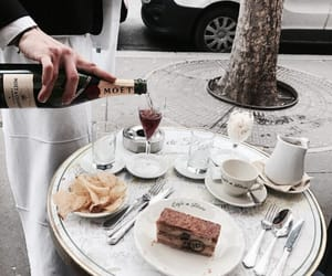 food and champagne image