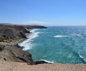 cliffs, fuerteventura, and holiday image