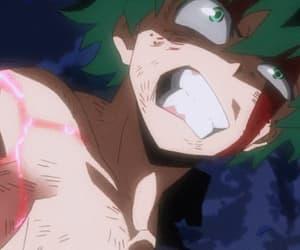 anime, gif, and hero image