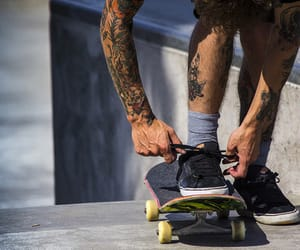 skater and Tattoos image