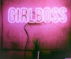 boss, feminist, and girlboss image