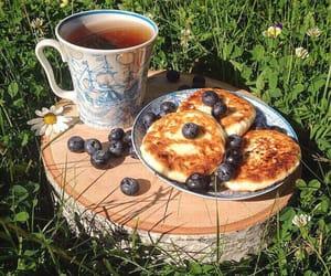 pancakes and tea image