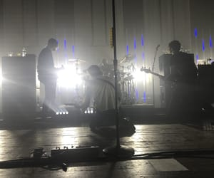 ashton, concert, and drums image