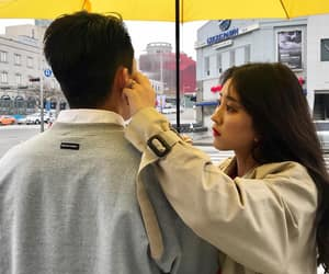 couple, ulzzang, and love image