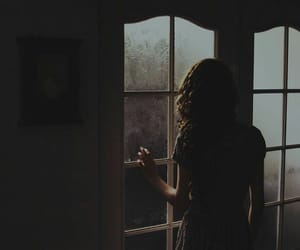 girl, love, and rain image