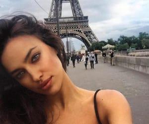 paris, irina shayk, and model image