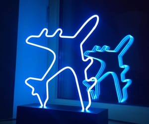 airplane, blue, and aesthetic image