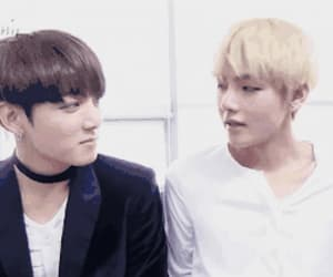 gif, bts, and vkook image