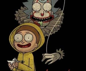 it, serial, and rick and morty image
