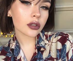 girl, inspiracion, and lips image