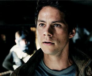 gif, thomas, and the maze runner image