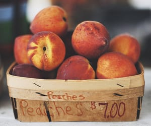 fruit, mood, and peaches image