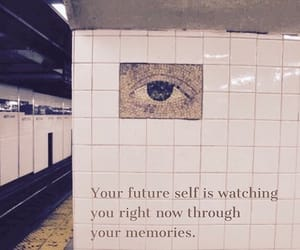 quotes, eye, and future image