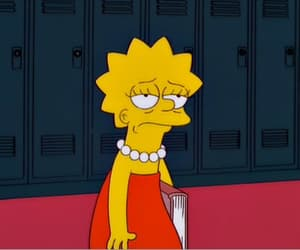 school, simpsons, and lisa image