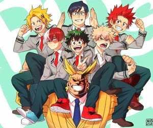 boku no hero academia, anime, and my hero academy image
