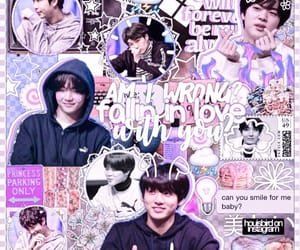 edit, jin, and kpop image