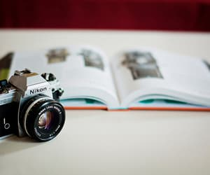 camera, photography, and book image
