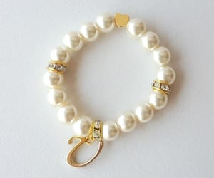 etsy, pearl jewelry, and heart jewelry image