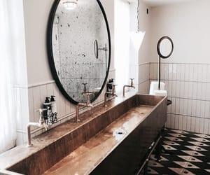 interior, home, and bathroom image