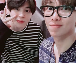 army, jimin, and rm image