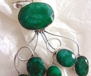 artisan, emerald, and etsy image