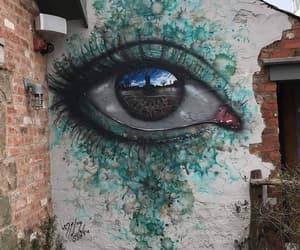 art, eye, and street art image