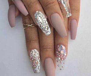 naildesign, nudenails, and blingnails image
