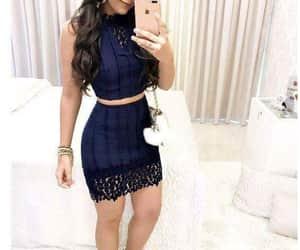 azul, ropa, and vestidos image