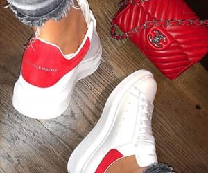 Alexander McQueen, sneakers, and chanel image
